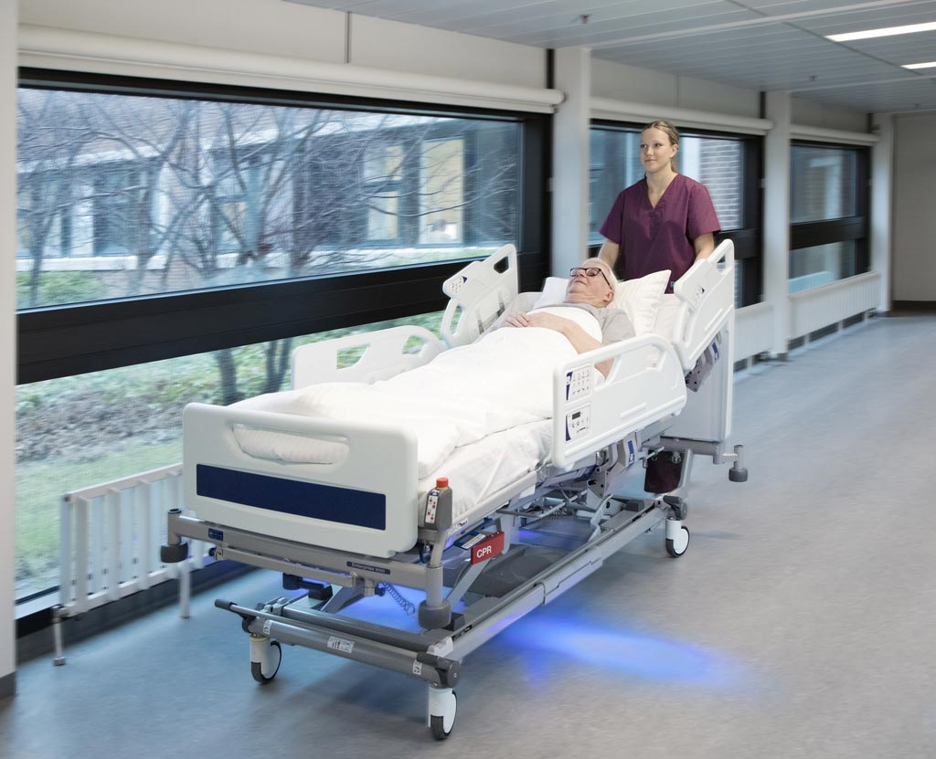 Image: IndiGo makes light work of patient transport (Photo courtesy of Arjo).
