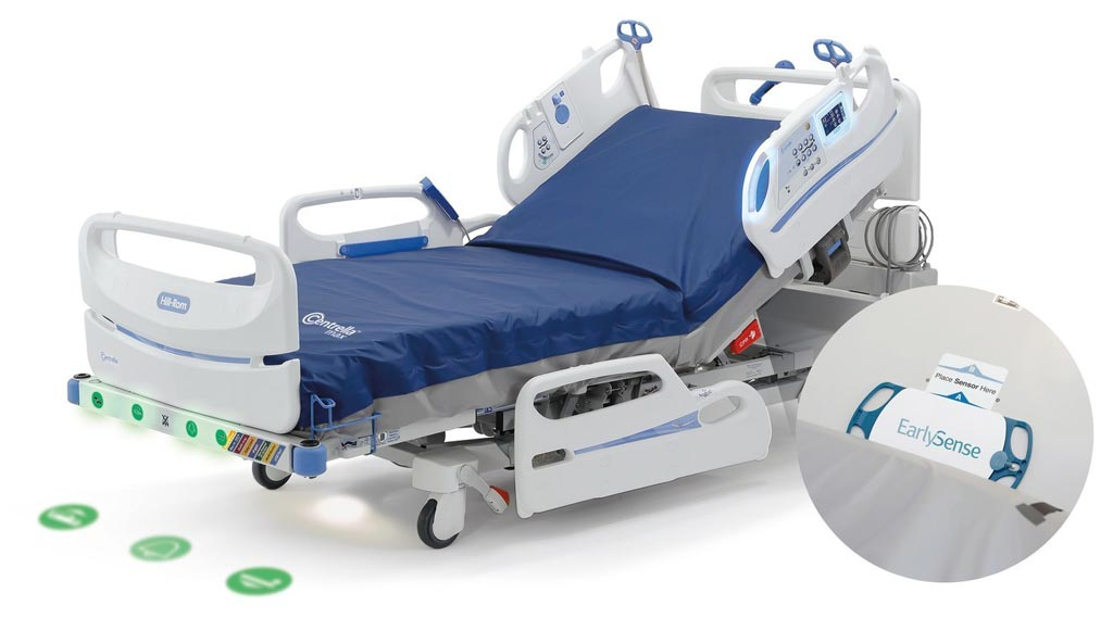 Image: The Centrella Smart+ Bed with EarlySense (Photo courtesy of Hill-Rom).
