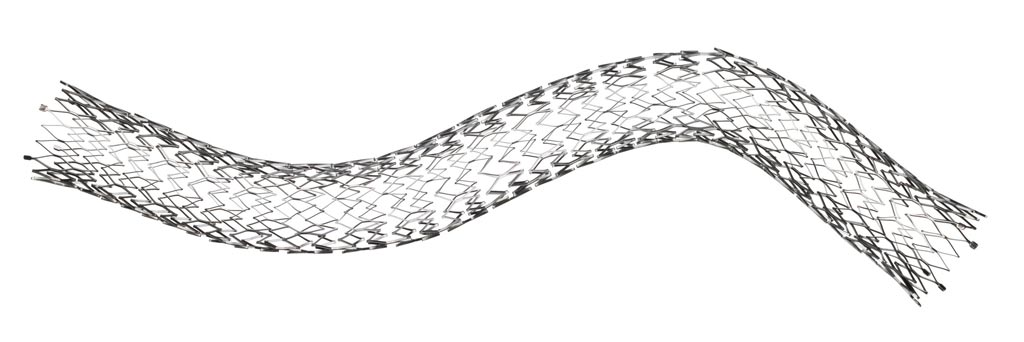 Image: The Venovo stent is specifically designed for arteries (Photo courtesy of BD).