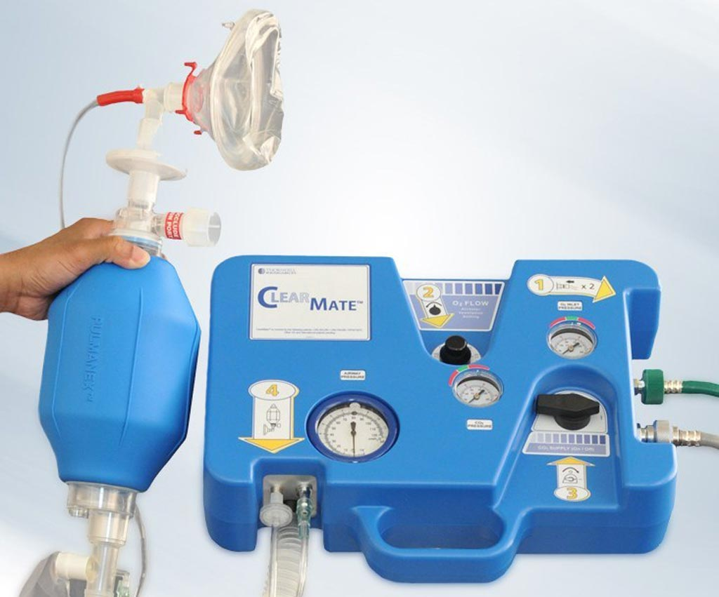 Image: The portable ClearMate device (Photo courtesy of Thornhill Medical).