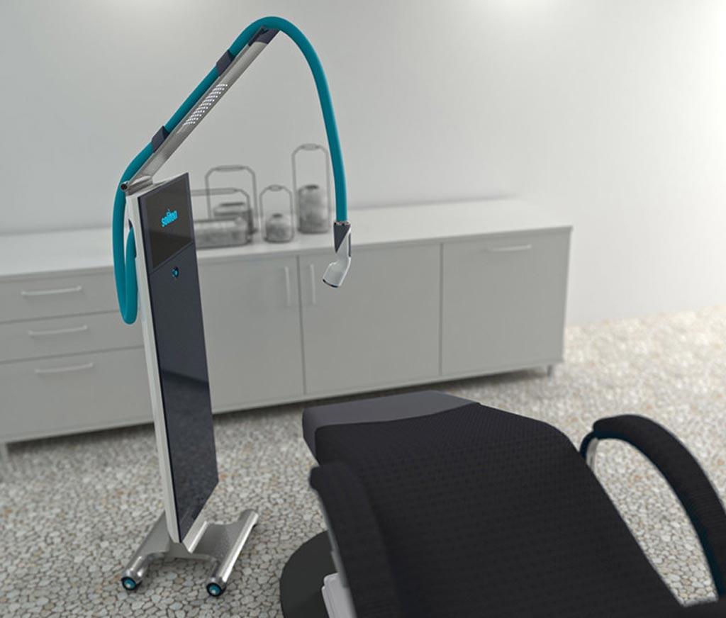 Image: The RAP device facilitates tattoo removal (Photo courtesy of Soliton).