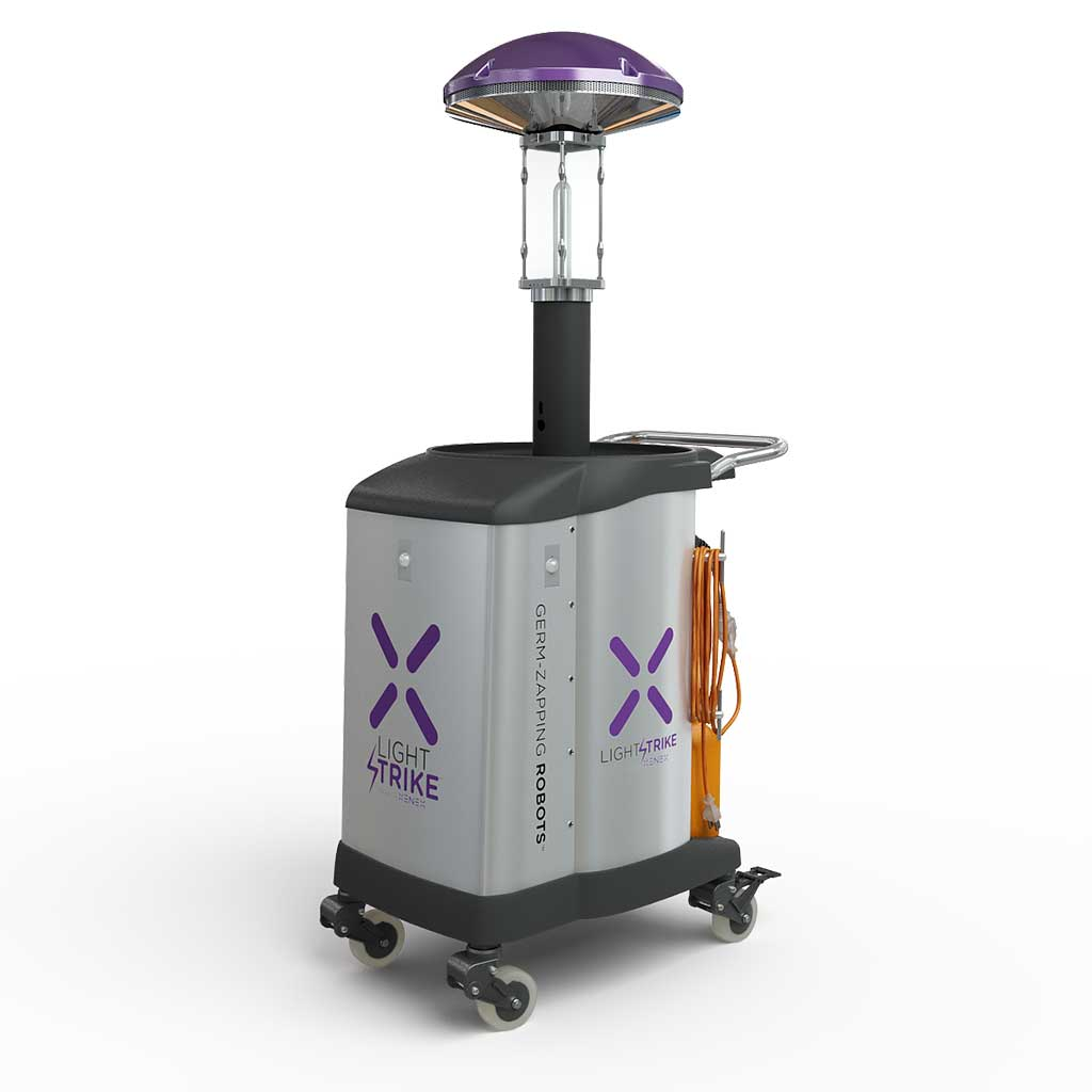 Image: The LightStrike Germ-Zapping Robot (Photo courtesy of Xenex)