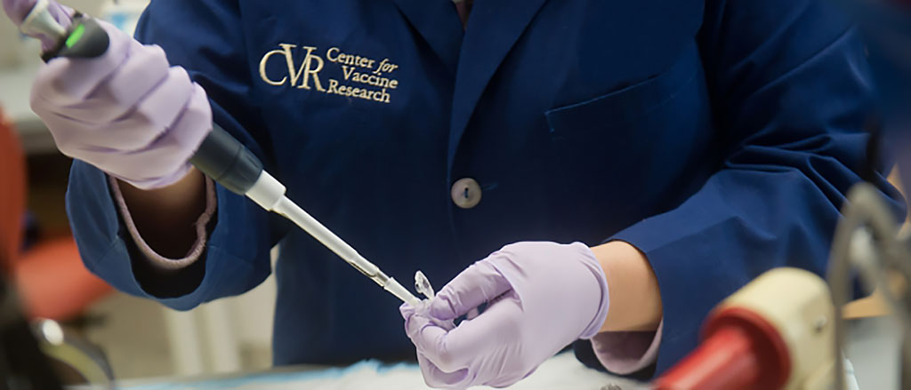 Image: Researchers attach Coronavirus to genetically modified measles vaccine (Photo courtesy of Center for Vaccine Research)