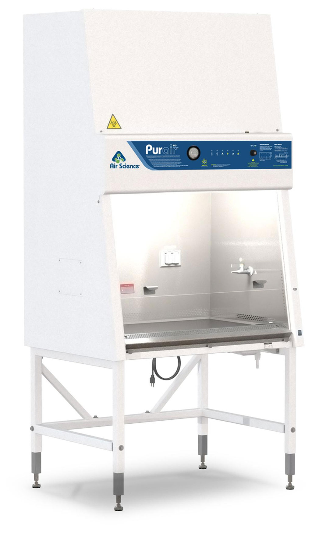 Image: The Purair® BIO biological safety cabinet (Photo courtesy of Air Science)