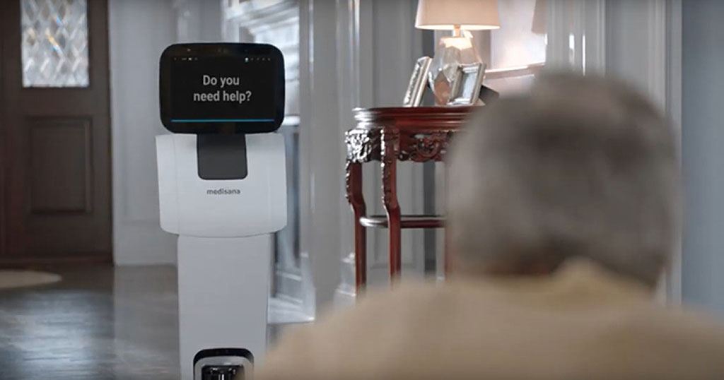 Image: Meditemi health robots can help detect COVID-19 symptoms (Photo courtesy of Meditemi)