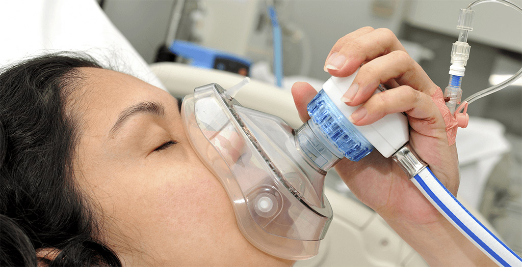 Image: N2O is safe for analgesia control during labor (Photo courtesy of Getty Images)