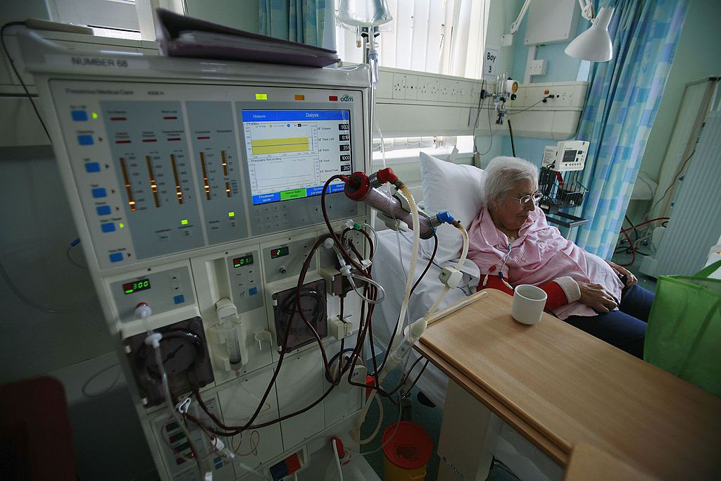 Image: Dialysis patients who acquire coronavirus face higher death risk (Photo courtesy of Getty Images)