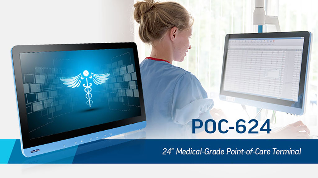 "Image: The POC-624 24"" medical-grade terminal (Photo courtesy of Advantech)"