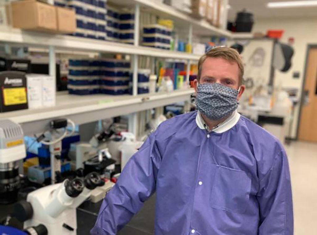 Image: Sean Diehl, Ph.D., Associate Professor of Microbiology and Molecular Genetics at UVM (Photo courtesy of University of Vermont)