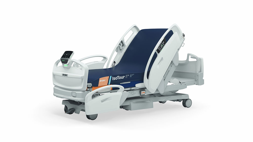 Image: The ProCuity hospital bed is completely wireless (Photo courtesy of Stryker Corporation)