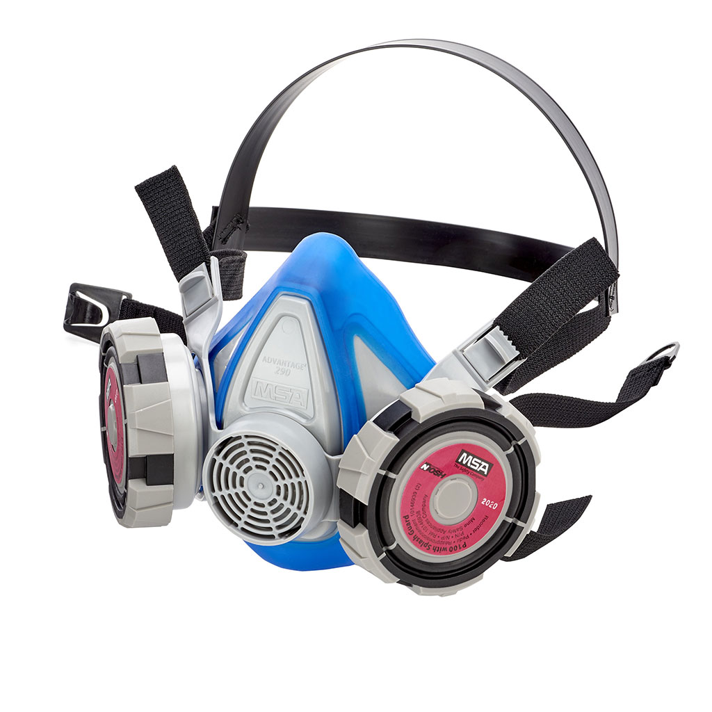 Image: The Advantage 290 Respirator elastomeric half-mask respirator (Photo courtesy of MSA Safety)