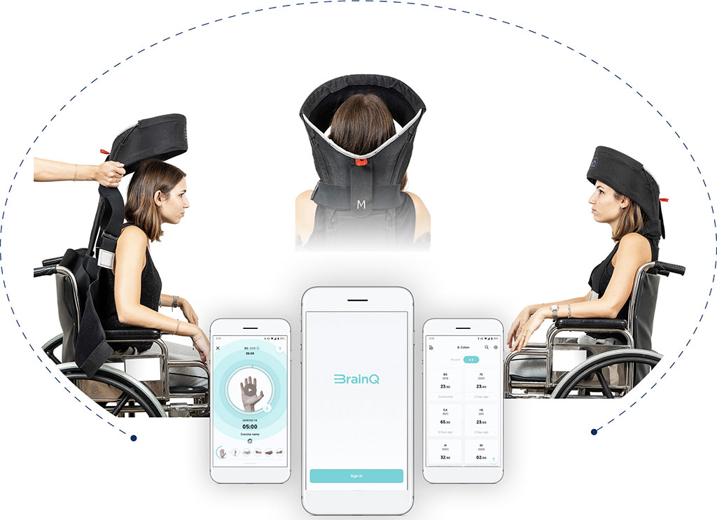 Image: Low intensity electromagnetic fields can assist recovery from stroke (Photo courtesy of BrainQ)