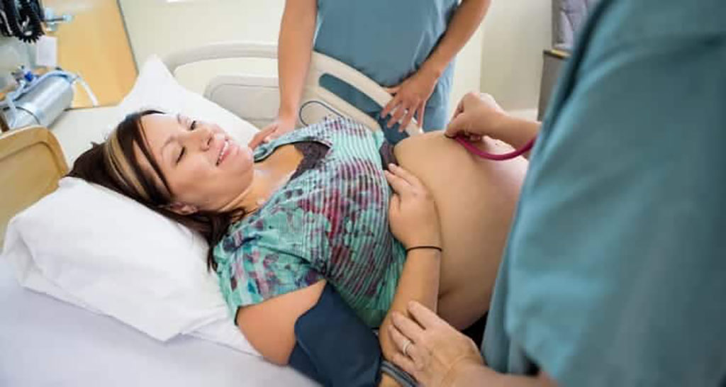 Image: A simple stethoscope still offers the best results for monitoring fetal status (Photo courtesy of Shutterstock)