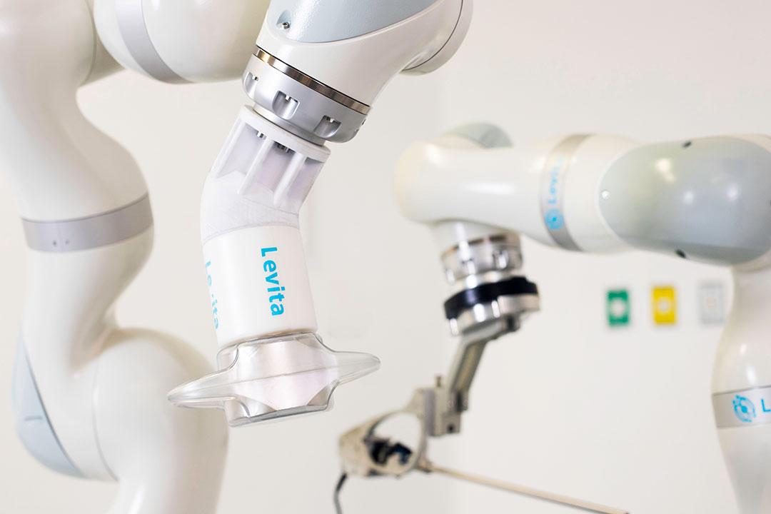 Image: The Levita Robotic Platform (Photo courtesy of Levita Magnetics)