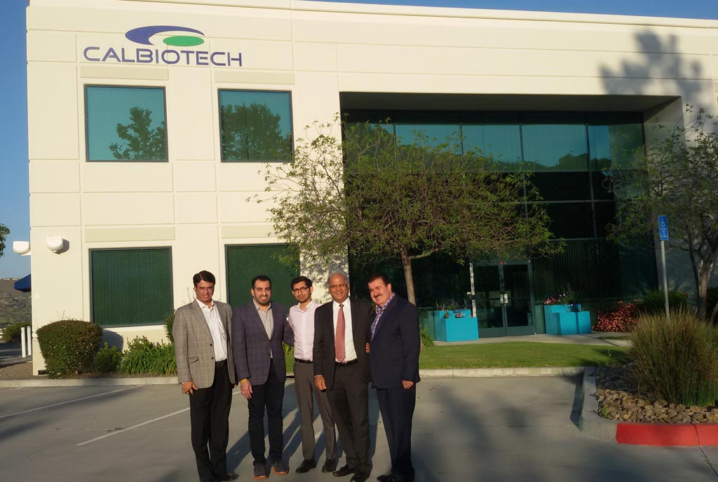 Image: The Calbiotech team (Photo courtesy of Calbiotech Group).