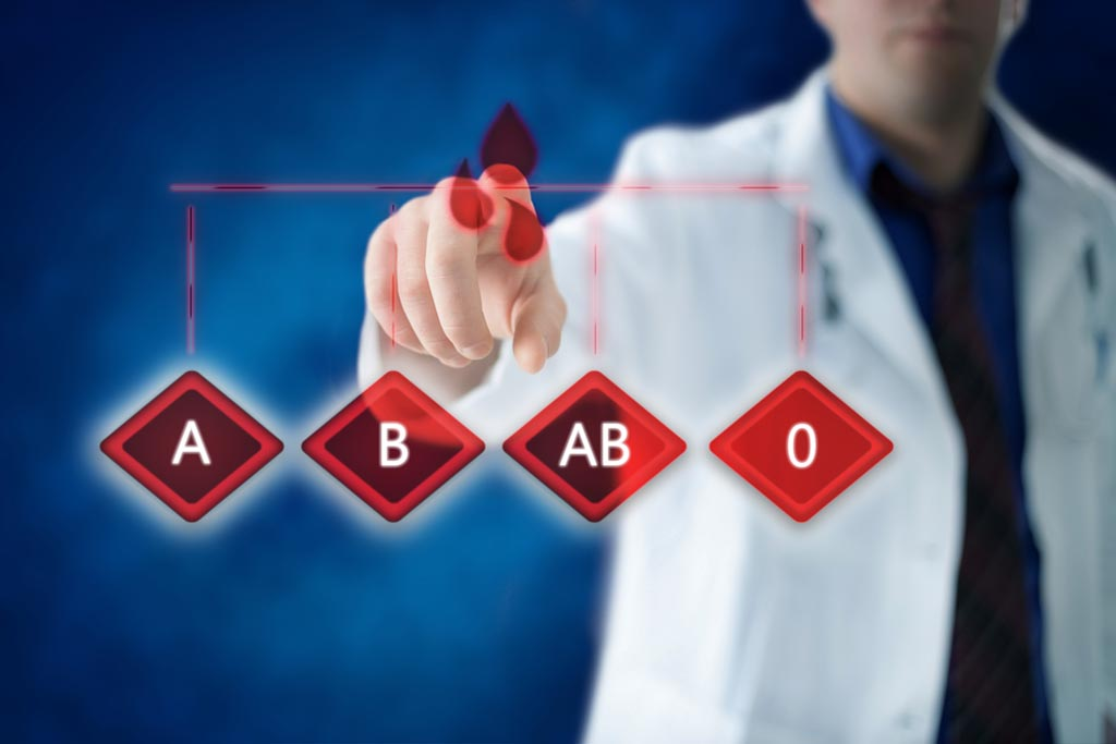 Image: Research suggests healthcare professionals should consider a person\'s blood group when assessing their cardiovascular risk (Photo courtesy of Shutterstock).
