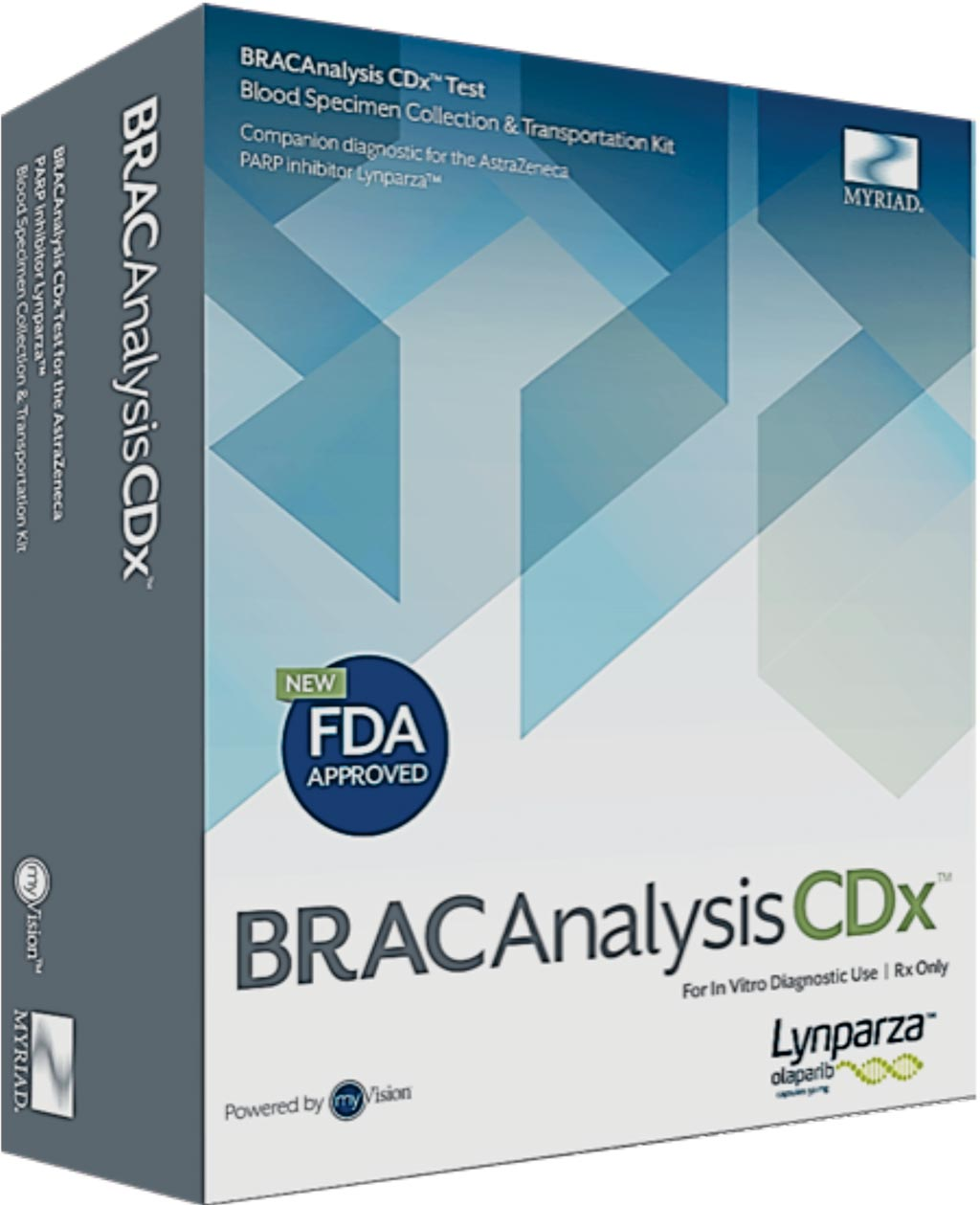 Image: The FDA-approved BRACAnalysis CDx test as a companion diagnostic (Photo courtesy of Myriad Genetics).
