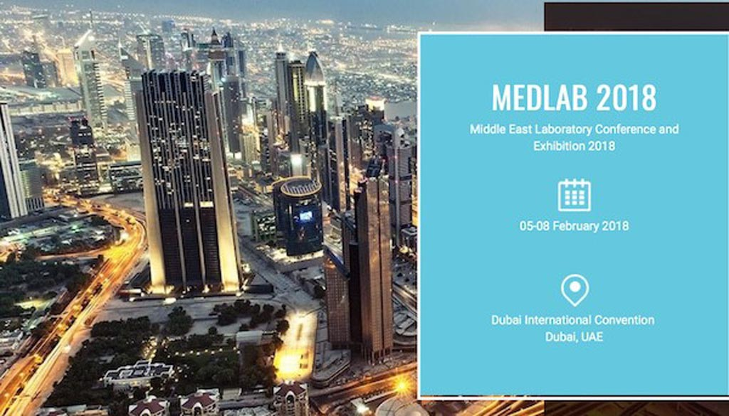 Image: MEDLAB Middle East continues to be the largest attended laboratory and IVD exhibition and conference in the world (Photo courtesy of MEDLAB).