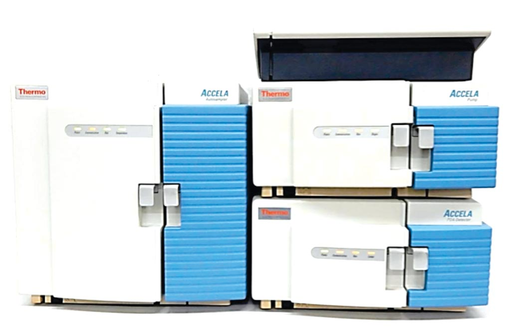 Image: The Accela liquid chromatography system (Photo courtesy of Thermo Fisher Scientific).