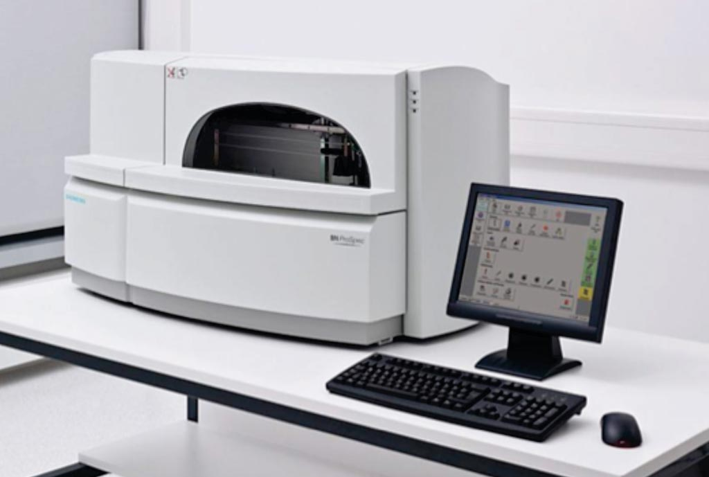 Image: The BN ProSpec chemistry analyzer is a dedicated, compact system that offers a consolidated menu of specialty and routine reagents for reliable plasma protein testing (Photo courtesy of Siemens Healthcare).