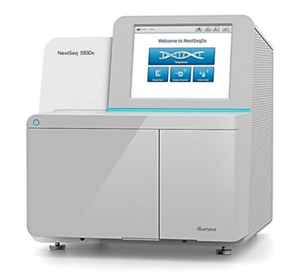 Image: The NextSeq 550Dx next-generation sequencing system (Photo courtesy of Illumina).