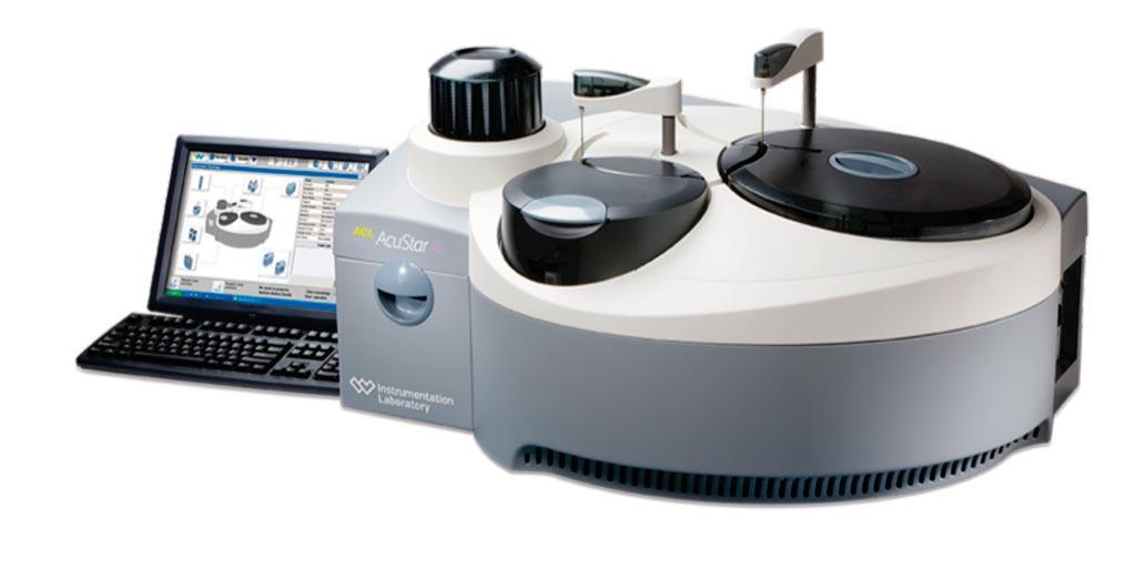 Image: The ACL AcuStar testing analyzer offers full automation of highly sensitive immunoassays (Photo courtesy of Instrumentation Laboratory).