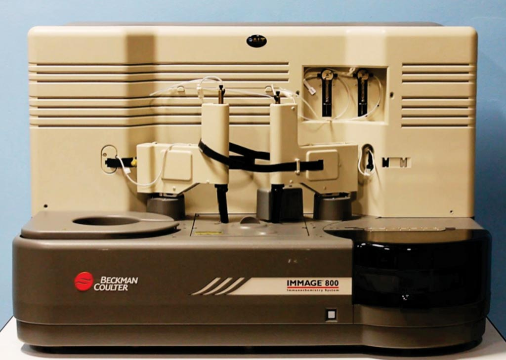 Image: The Immage 800 immunochemistry system (Photo courtesy of Beckman Coulter).