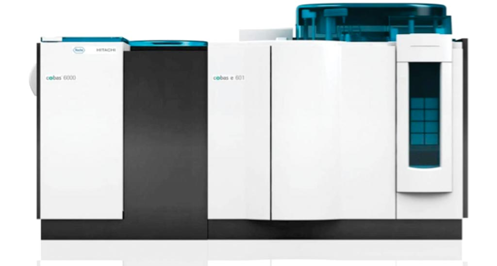 Image: The Cobas 6000 analyzer series for clinical chemistry and immunochemistry assays (Photo courtesy of Roche Diagnostics).