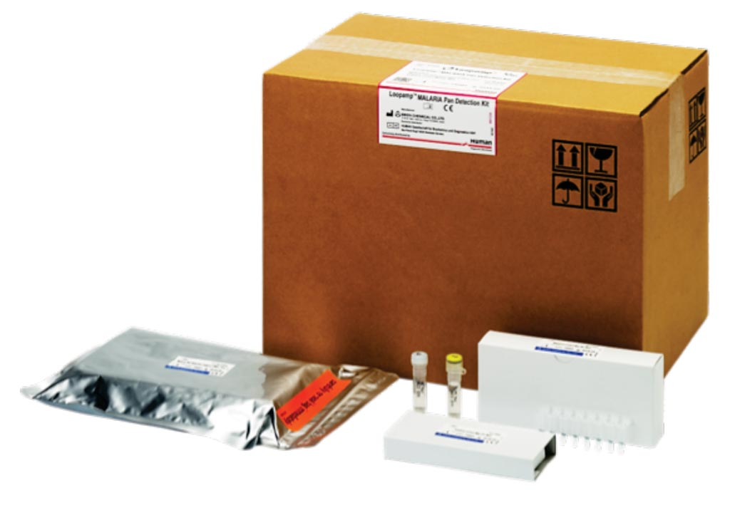Image: The Loopamp Malaria Pan Detection Kit is a qualitative test for detection of Malaria Pan species (Plasmodium ovale, P. vivax, P. malariae and P. falciparum) in human blood samples (Photo courtesy of Human Diagnostics Worldwide).