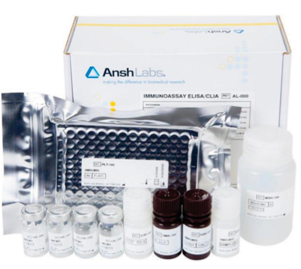 Image: The PicoAMH ELISA test measures the amount of Anti-Müllerian Hormone (AMH) in the blood (Photo courtesy of Ansh Labs).