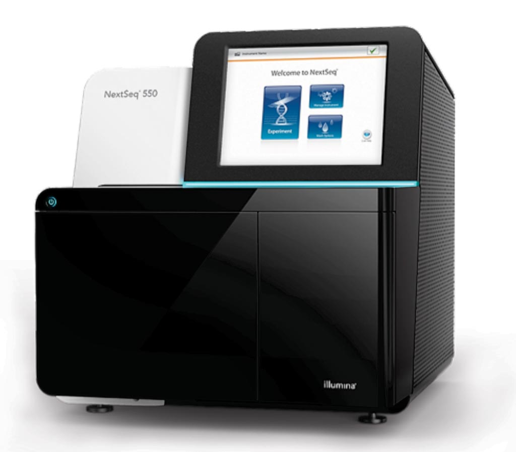 Image: The NextSeq 550 System delivers the power of high-throughput sequencing with the speed, simplicity, and affordability of a benchtop next-generation sequencing (NGS) system (Photo courtesy of Illumina).