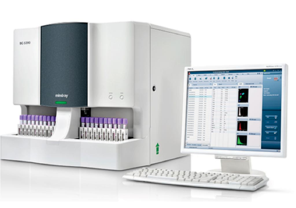 Image: The BC-5390CRP blood cell analyzer (Photo courtesy of Mindray).