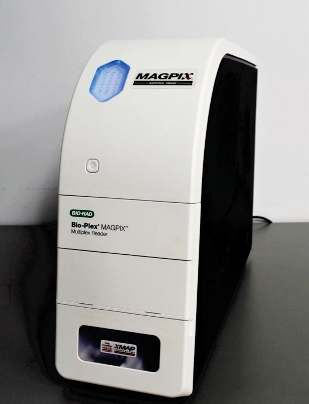 Image: The MAGPIX single or multiplex automated immunoassay reader (Photo courtesy of Bio-Rad).