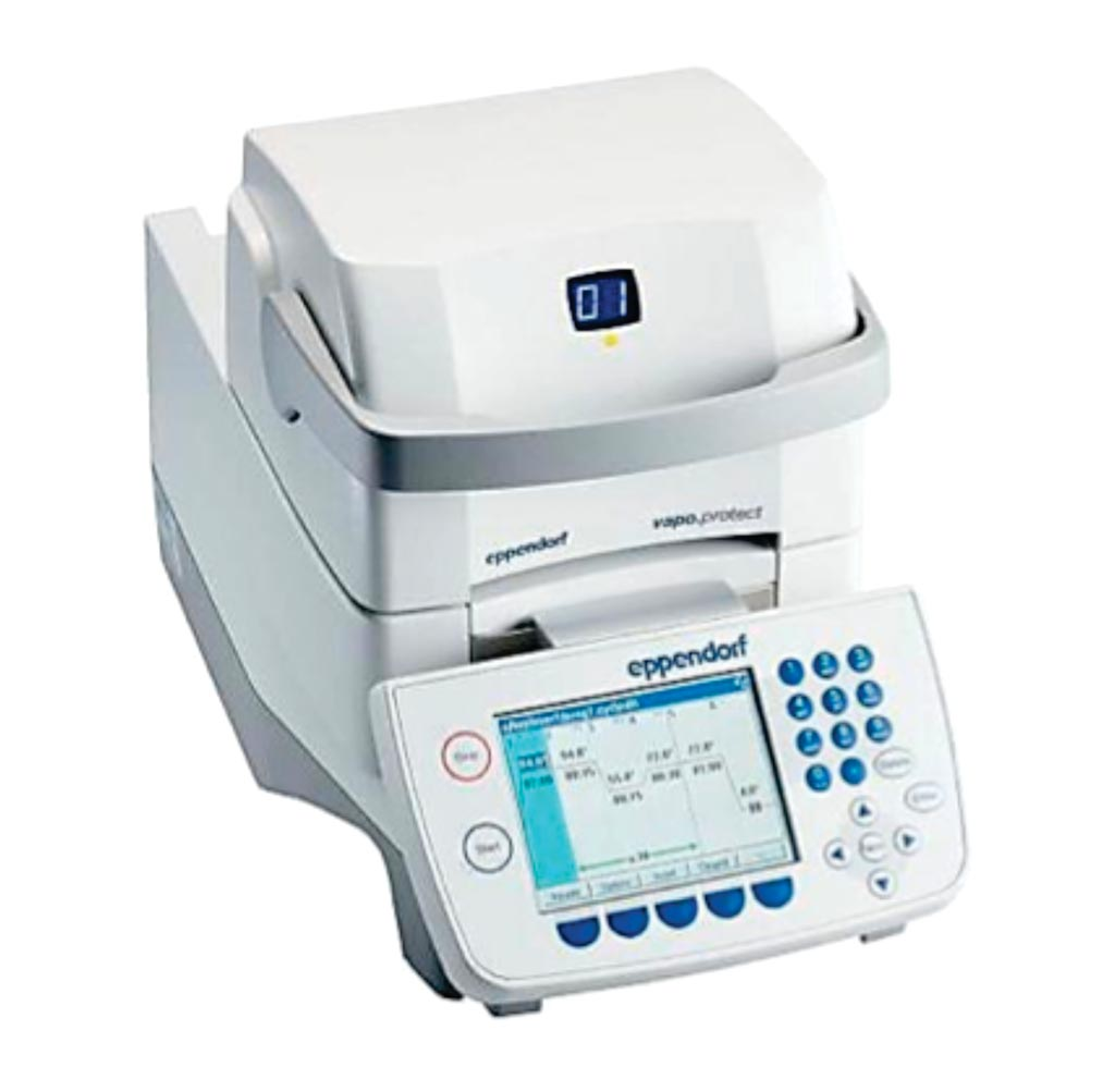 Image: The Mastercycler X50 for polymerase chain reactions (Photo courtesy of Eppendorf).