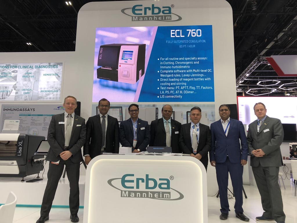 Image: ERBA Diagnostics Mannheim launched its latest hematology analyzers at MedLab Middle East (Photo courtesy of ERBA).