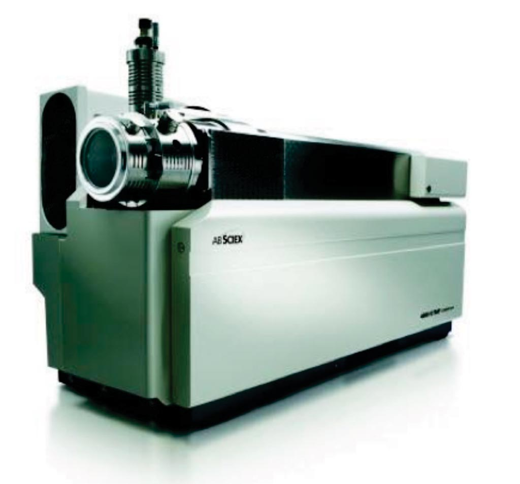Image: The API 4000 liquid-chromatography mass spectrometry system (Photo courtesy of SCIEX).