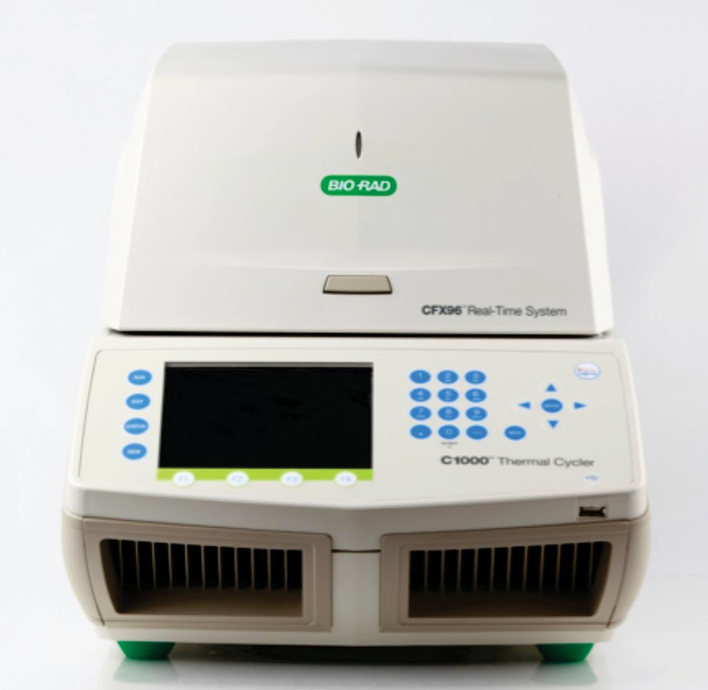 Image: The CFX96 real-time polymerase chain reaction detection system (Photo courtesy of Bio-Rad).