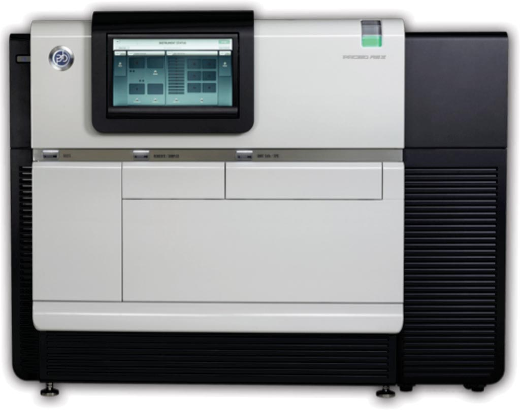 Image: The PacBio RS II sequencer uses single molecule, real time (SMRT) sequencing technology (Photo courtesy of Pacific Biosciences).