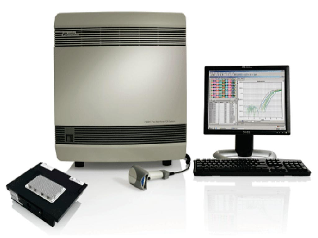 Image: The ABI 7900HT Fast Real-Time PCR System (Photo courtesy of Thermo Fisher Scientific).