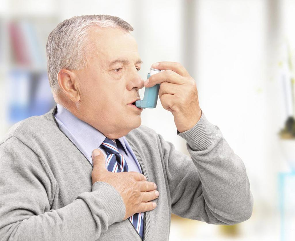 Image: New research shows genetic risk factors for adult-onset asthma were largely a subset of the genetic risk for childhood-onset asthma but with overall smaller effects, suggesting a greater role for non-genetic risk factors in adult-onset asthma (Photo courtesy of Shutterstock).