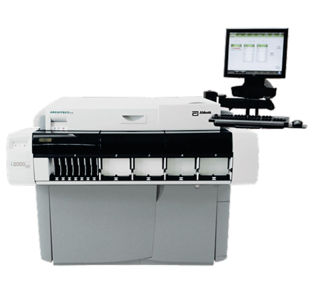 Image: The ARCHITECT i2000SR immunoassay analyzer (Photo courtesy of Abbott).