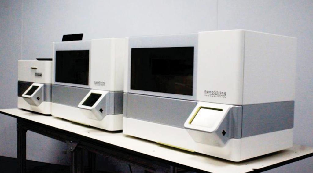 Image: The nCounter Max analysis system (Photo courtesy of NanoString Technologies).