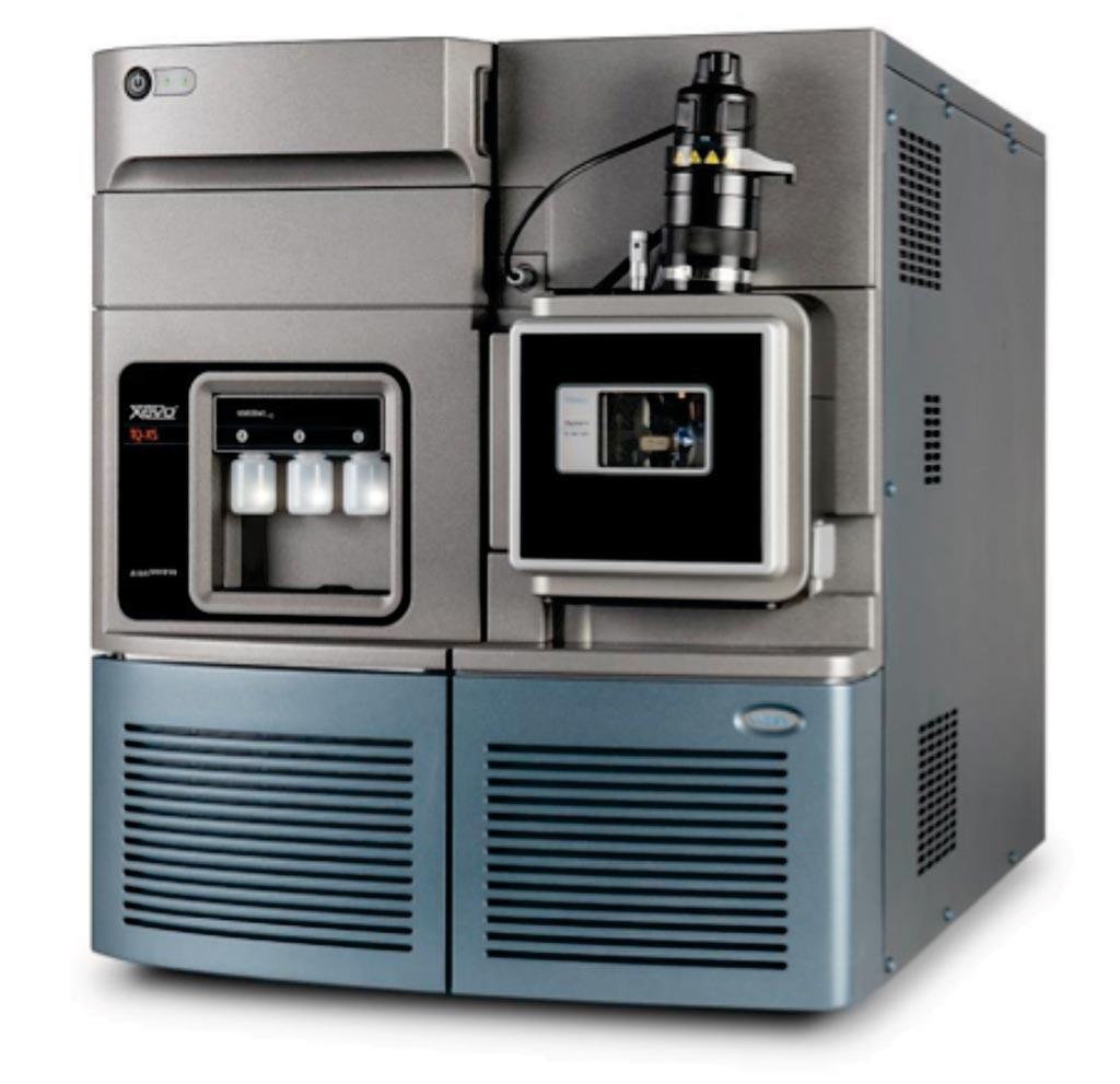 Image: The Xevo TQ-S micro Triple Quadrupole Mass Spectrometry (Photo courtesy of Waters).