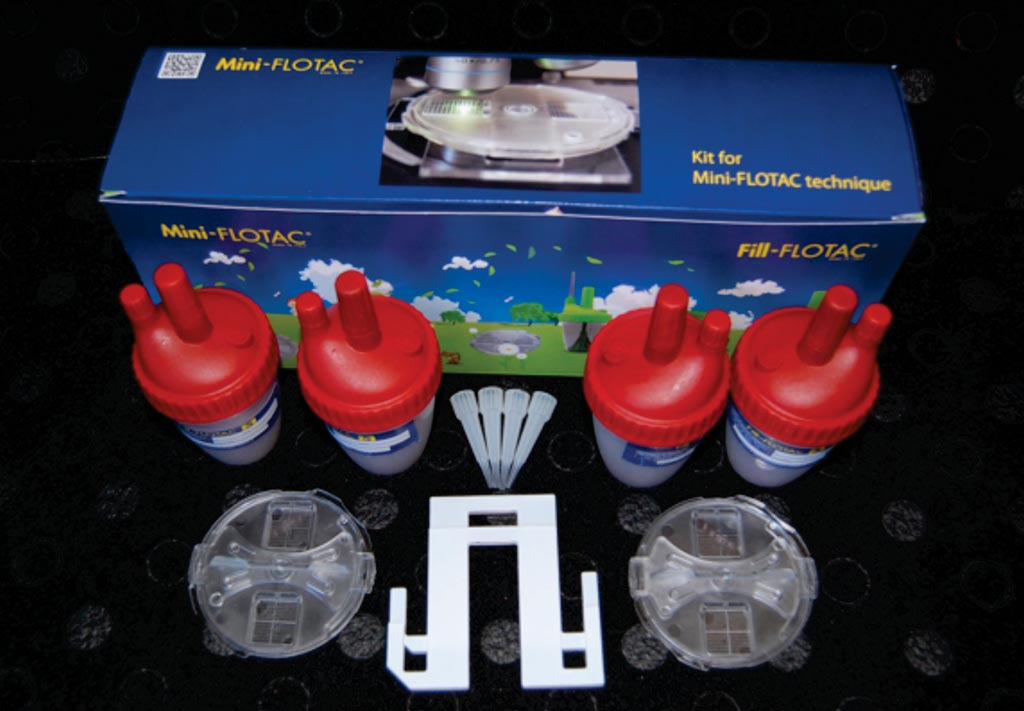Image: The Mini-FLOTAC is a promising technique for detecting and counting helminth eggs in animals and humans, and can be used for fecal egg count (Photo courtesy of Università degli Studi di Napoli Federico II).