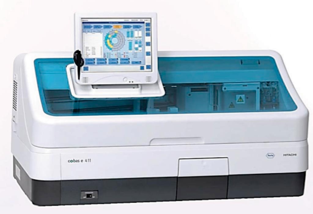 Image: The cobas e 411 analyzer is a fully automated analyzer that uses a patented Electrochemiluminescence technology for immunoassay analysis (Photo courtesy of Roche Diagnostics).