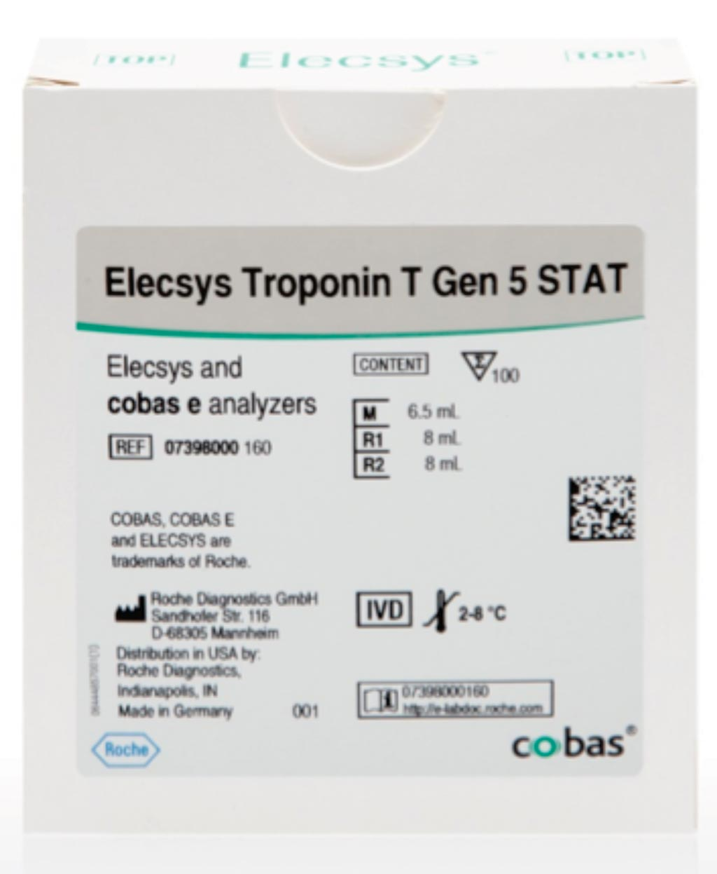 Image: The Elecsys Troponin T Gen 5 STAT assay (Photo courtesy of Roche Diagnostics).
