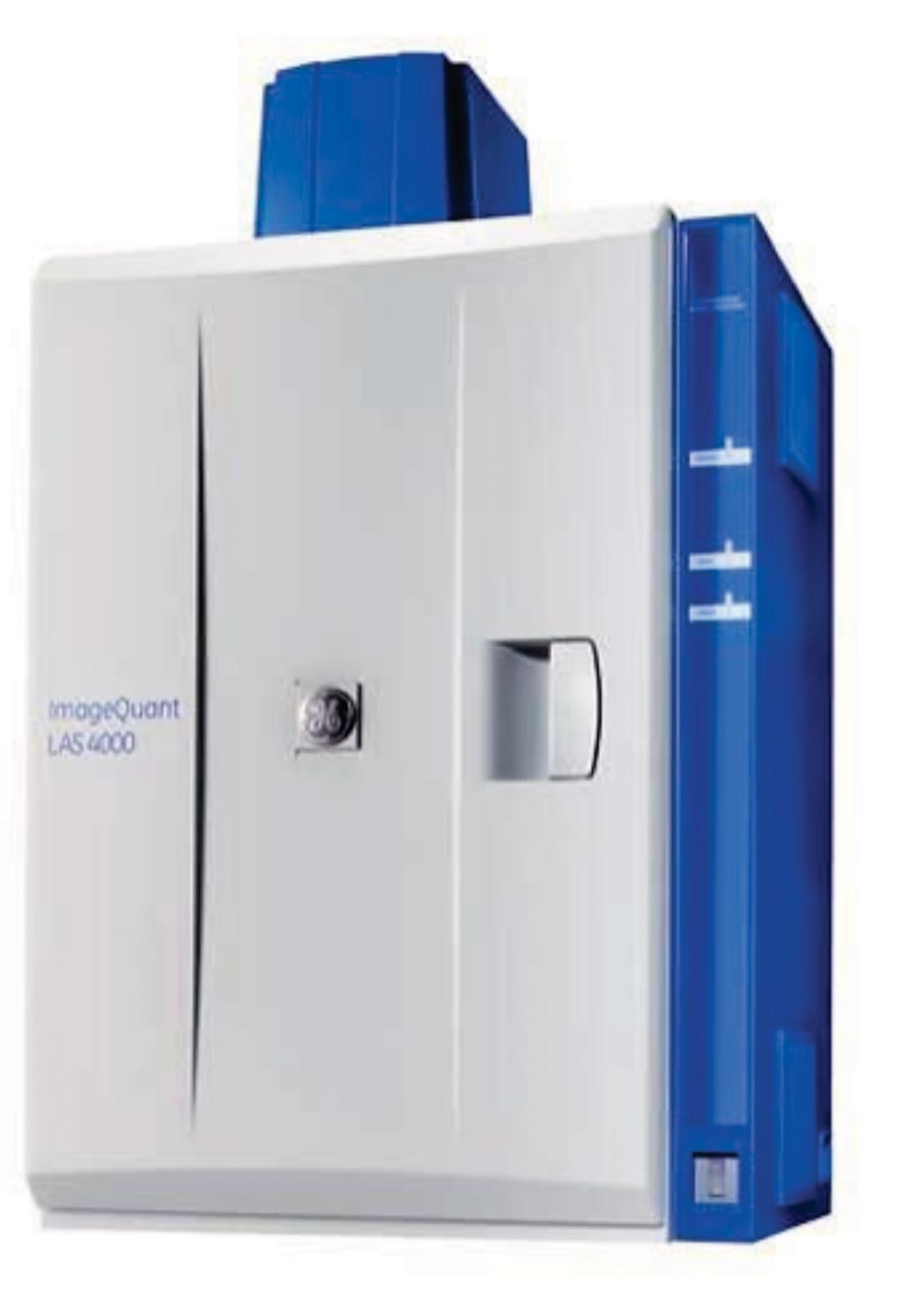 Image: The ImageQuant LAS 4000 biomolecular imager (Photo courtesy of GE Healthcare).