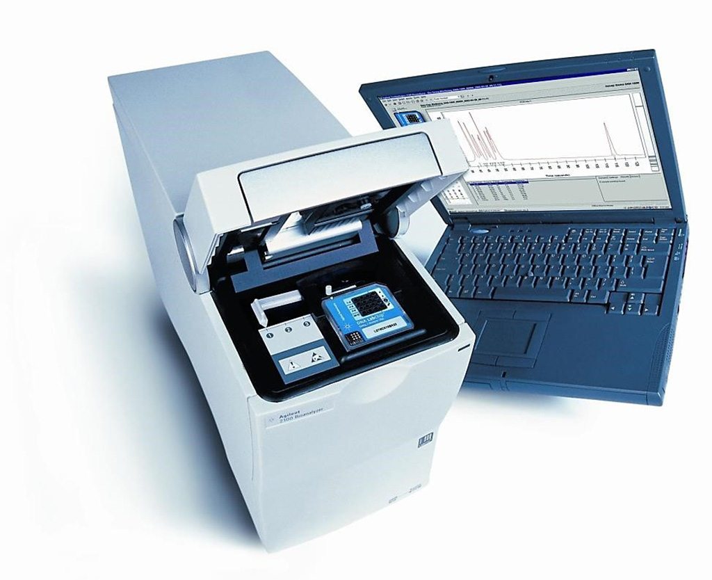 Image: The Agilent Technologies 2100 Bioanalyzer system is an established automated electrophoresis tool for the sample quality control of biomolecules (Photo courtesy of Laboratory Controls LLC)