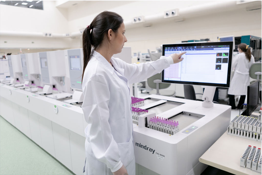 Image: Mindray Hematology Solution Helps High-Volume Lab Run 2,820,000 CBC Tests Annually (Photo courtesy of Mindray)