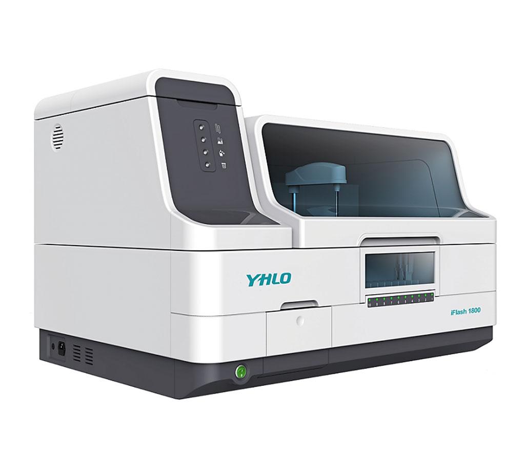 Image: The iFlash 1800 chemiluminescence immunoassay analyzer (Photo courtesy of Shenzhen YHLO Biotech).